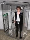 AFA 85 Star Wars 1977 Loose Han Solo Small Head Molded Legs Figure Kenner NM+