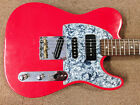Tricked Out Partscaster T Style Electric Guitar 3 PUs Fender Neck 7 Way Wiring