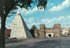 ITALY ROMA ROME PYRAMID OF CAIO CESTIO, SAINT PAUL DOOR
