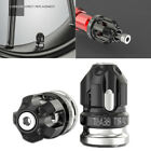 2x Gray Alloy Tire Valve Stem Cap Cover Wheel Accessories for Motorcycle Scooter
