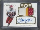 PRIEST HOLMES 2017 FLAWLESS GOLD JUMBO 3 COLOR CHIEFS PATCH ONCARD AUTO #D 11 20