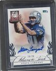 STEVE LARGENT PAUL RICHARDSON 2014 ELITE PASSING THE TORCH DUAL AUTO RC #D 18 20