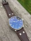 Type A Flieger IWC Big Pilot Homage Men's 44mm Mechanical Aviation Watch