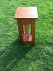 Quarter Sawn White Oak Table Mission Table Or Stand  24