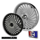 23 Inch Hurricane Custom Motorcycle Wheel Harley Bagger Touring