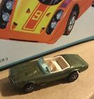 FANTASTIC HOT WHEELS REDLINE CUSTOM FIREBIRD IN HK OLIVE NICE CAR
