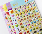 3D puffy bubble stickers scrapbook Cartoon birthday giftcollection Sq