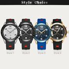 CURREN 8167 Casual Man Quartz Watch Waterproof leather Strap Wristwatch FO