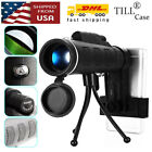 40x60 BAK4 Prism Spotting Scope Waterproof Telescope W Tripod Phone Adapter USA