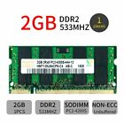 New 2GB 1GB DDR2 533MHz PC2 4200S 200Pin SO DIMM Laptop Memory For Hynix LOT