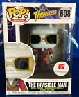 Funko Pop! Universal Monsters #608 The Invisible Man NIB Walgreens Exclusive