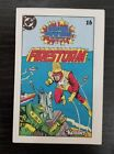 Vintage 1984 Firestorm Kenner Action Figure DC Mini Comic Book Super Powers