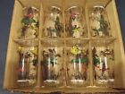 Nice Vintage Box Of Eight Kentley Decorated Tumblers Tweive Ounce Ducks Geese