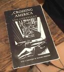 Crossing America LEO CONNELLAN Signed POETRY 1976 Rare FREE US SHIPPING