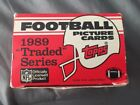Box Of 1989 Topps Football Picture Cards