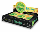 NEW RICK AND MORTY R&M SEASON 1 HOBBY BOX 24 booster foil packs 2018 Cryptozoic