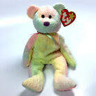 TY Beanie Baby - GROOVEY the Bear (8.5 inch) - MWMTs Stuffed Animal