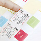 Fast Shipping 2020 Calendar 15 month Divider Tab Sticker 5 Styles