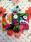 Vera Bradley Small Kisslock Walllet VaVa Bloom NWOT