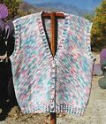 Oat Couture GU407 Marble Mountain Vest Knitting Pattern