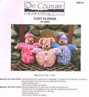 Oat Couture BB219 Cozy Clowns Knitting Pattern