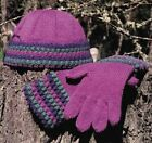 Oat Couture AC304 Tayberry Hat & Gloves Knitting Pattern