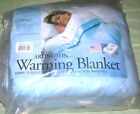 VINTAGE SUNBEAM FULL ELECTRIC BLANKET SINGLE CONTROL POLY/ACRYLIC USA NEW RARE