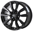 17 FITS NISSAN ROGUE GLOSS BLACK WHEEL RIM FACTORY OEM 2017 2018 2019 62746