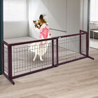 NEW! Dog Gate Fench Solid Wood Construction Indoor