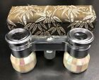 Swift Princess 726 Mother of Pearl Binoculars Opera Glasses W Case