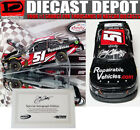 AUTOGRAPHED JEREMY CLEMENTS 2017 REPAIRABLEVEHICLESCOM WISCONSIN WIN RACED 1 24