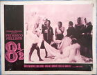 8 1 2 LOBBY CARD Dramatic Group of Women Federico Fellini 1963 Unnumbered