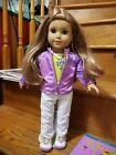 Amercan Girl Doll girl of the year McKenna retired W/books clothes