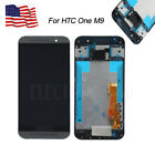 for HTC ONE M9 LCD Display Touch Screen Digitizer with Frame Replacement Black