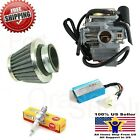 26mm Howhit 150cc GY6 Carb NGK Air Filter  Performance CDI Go Kart Scooter