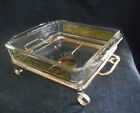 gold chafing stand