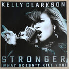 KELLY CLARKSON * STRONGER - REMIXES * US 14 TRK PROMO * HTF! * 7th HEAVEN