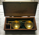 Antique English Make Portable Equal Arm Beam Scale Money Scale Apothecary Scale