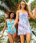 Lilly Pulitzer NWT Margarete Cover Up Light Pascha Pink Aquadesiac 118