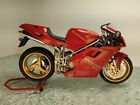 Ducati 916 motorcycle bike 1/12 built model Tamiya super road racer cafe
