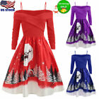 Plus Size Womens Long/Short Sleeve Floral Boho Party Bodycon Maxi Dress Clothing