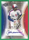 2006 Topps Co-Signers ANDRE DAWSON AUTOGRAPH (HOF) Expos