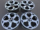 SET OF 4 CHROME 19 LAMBORGHINI GALLARDO SPYDER OEM FACTORY WHEELS RIMS NH1105