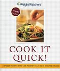 Weight Watchers Cook It Quick Cookbook 9 Points Or Less Soft Cover VGC