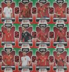 PANINI PRIZM WORLD CUP 2018 - SPAIN - GREEN & ORANGE WAVE PRIZM LOT OF 12