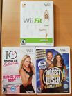 Wii Fit game bundle 3 game lot 10 Minute Solution The Biggest Loser Challenge