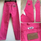 Vintage Wrangler Jeans High Waist Hot Pink Made In USA Sz 5 26 Waist