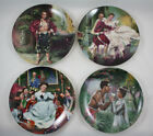 The King and I Knowles Collector Plates Complete Set of 4 COA