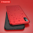 For iPhone 8 Plus 7 Plus X Red Case Shockproof Silm Lightweight Hard PC Cover