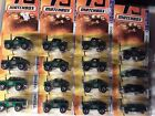 Matchbox Green Chase lot of 16 cars